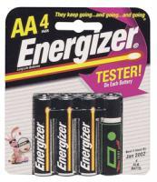 Energizer E91BP-4 Long-Life Alkaline Batteries (AA 4-pk)