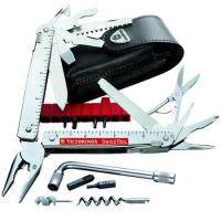 Victorinox SwissTool CS Plus Multi-Tool with Leather Pouch