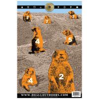 Paper Target Prairie Dog 12X18 10Pk