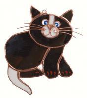 Gift Essentials Black Cat Suncatcher