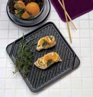 Chef's Design Single Burner Reversible Grill/Griddle