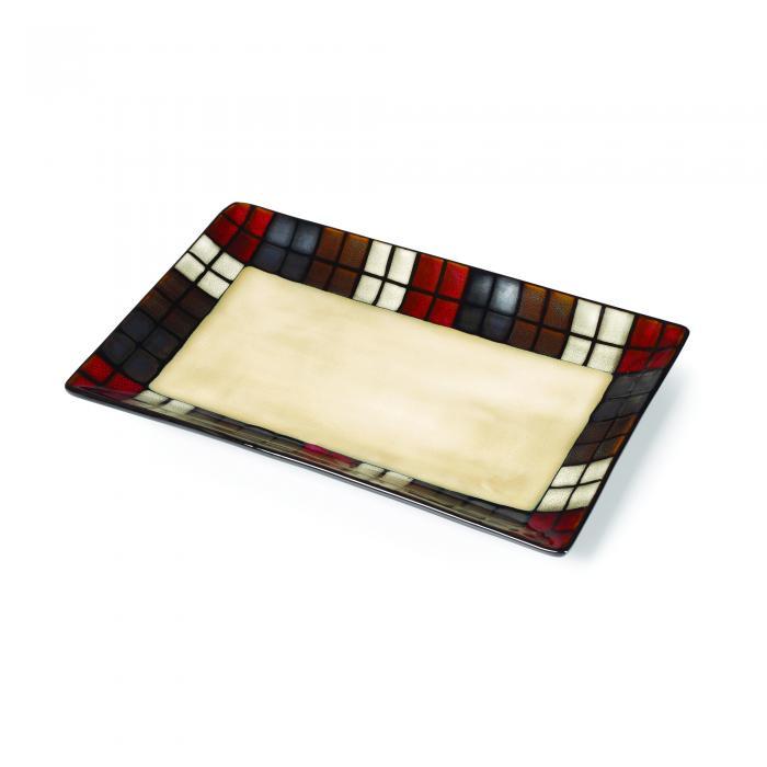 Pfaltzgraff Calico Rectangular Platter