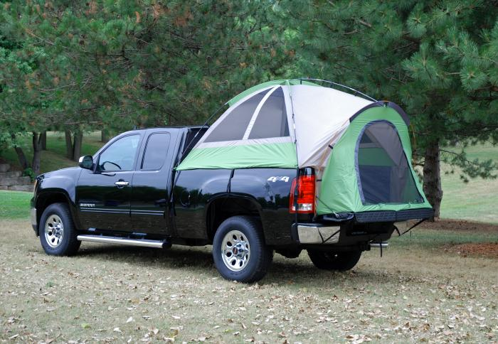 Napier Outdoors Backroadz #13 Compact Short Box Truck Tent, 6Ft.