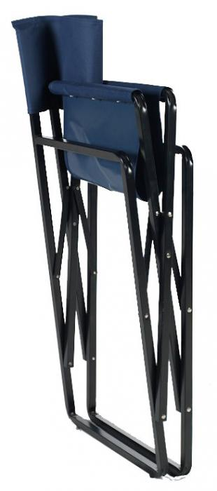 Oversized Steel Directors Folding Chair