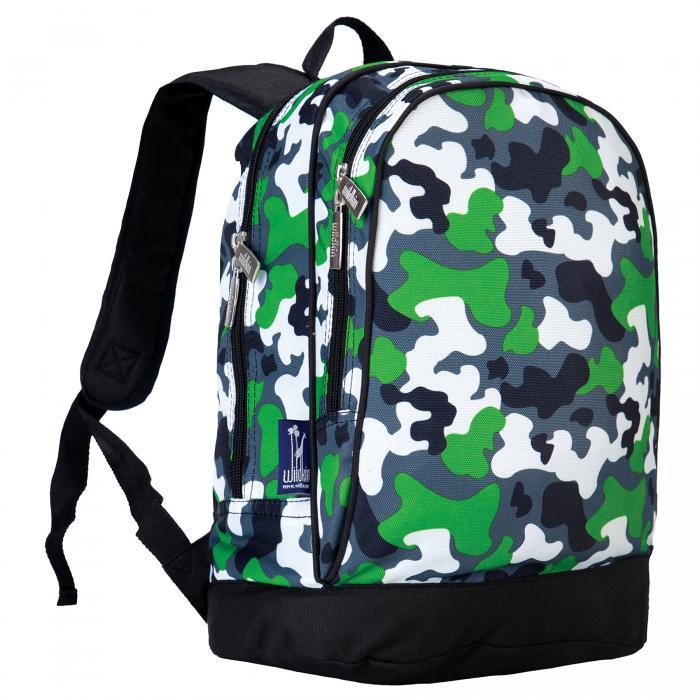 Olive Kids Green Camo Sidekick Backpack