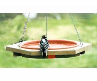 Songbird Essentials Mini 14 inch Hanging Bird Bath Clay Tray