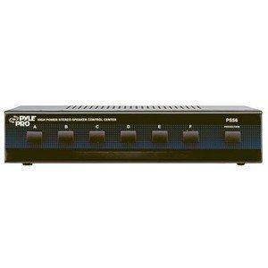 Pyle PSS6 High Power Stereo Speaker Selector (6 Channels)