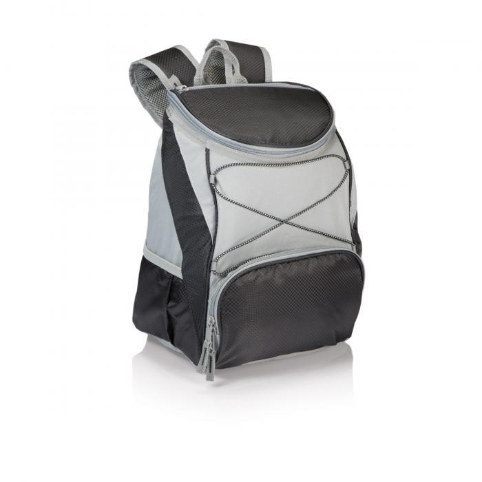 Picnic Time PTX Backpack Cooler, Black/Gray