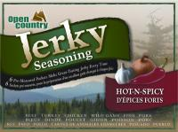 Open Country Jerky Spice, Hot & Spicy (6 Pack)