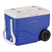 Coleman 40 Qt. Wheeled Cooler - Blue