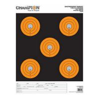 Champion Traps & Targets Shotkeeper 5Bulls Orange Large 12Pk