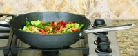 "Cookpro Black Chinese Wok 13"" Cast Iron Lightweight"