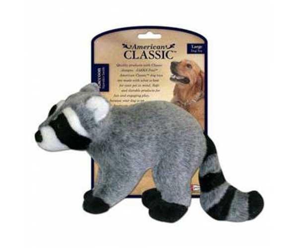 JPI AmClassic Raccoon Plush Large on Coleman Dog Toys Plush