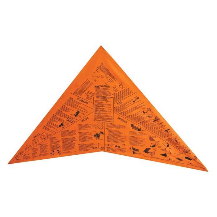 Survival Metrics Head For Survival Bandana - Bright Orange