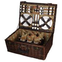Picnic & Beyond Terazzo Willow Picnic Set with Service for Six