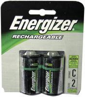 Energizer NH35BP-2 Rechargeable NiMH Batteries (C 2-pk)