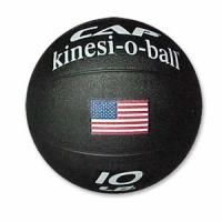 Cap Barbell 10 Pound Medicine Ball - Black