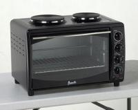 Avanti Oven Convection Toaster 2 Burners Mini Kitchen - Black