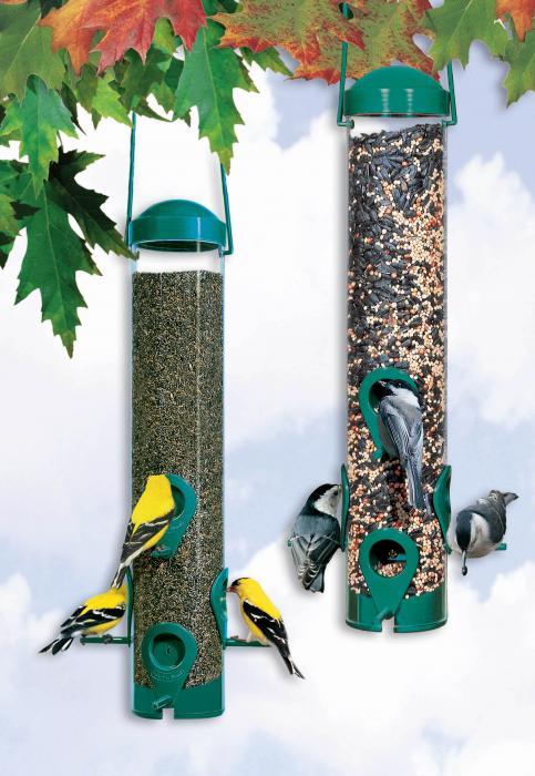 Perky Pet Sierra Tube Bird Feeder