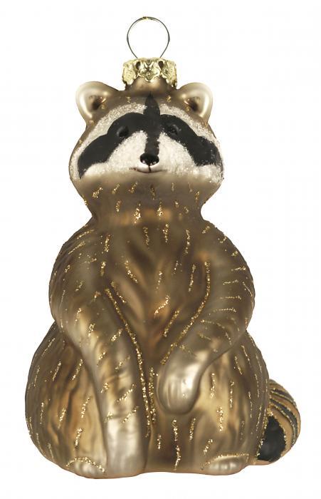 Cobane Studio Raccoon Ornament