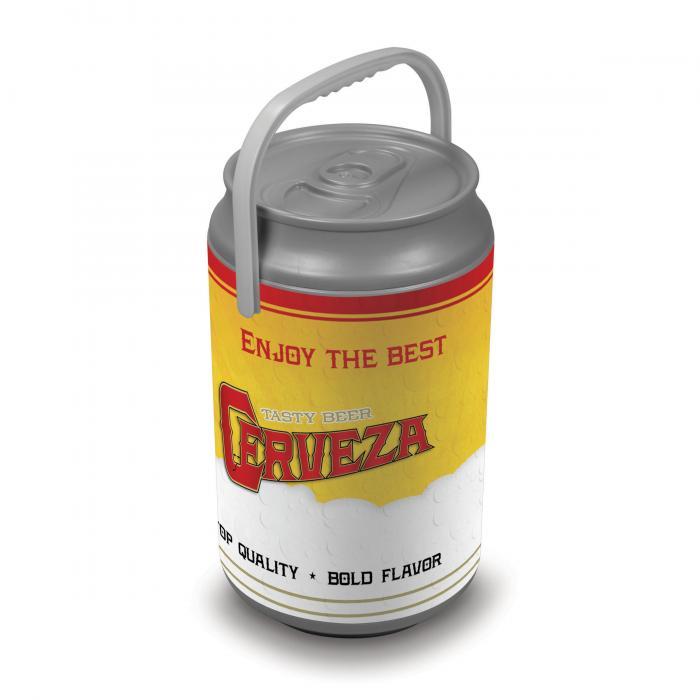 Picnic Time Extra Large Insulated Mega Can Cooler, Beer/Cerveza Can