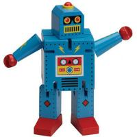 The Original Toy Company Robot X-7, Blue