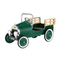 Dexton Green Retro Pickup Truck Pedal Car, DX-20146