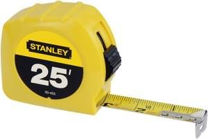 "Stanley 30-455 Tape Measure (25' x 1"")"