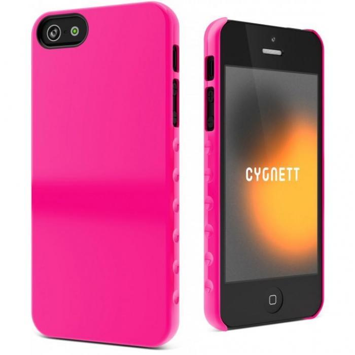 Cygnett Cyo833Cpaeg Pink Iphone5 Case Aerogrip