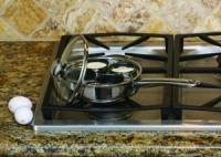 Cook Pro 18/10 Stainless Steel 4 Egg Poacher