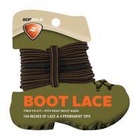 "Boot Waxed Lace Blck/brwn 144"""