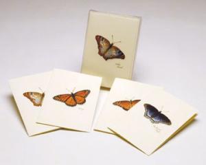 Steven M. Lewers & Associates Butterfly Notecard Assortment II (2 each of 4 styles)