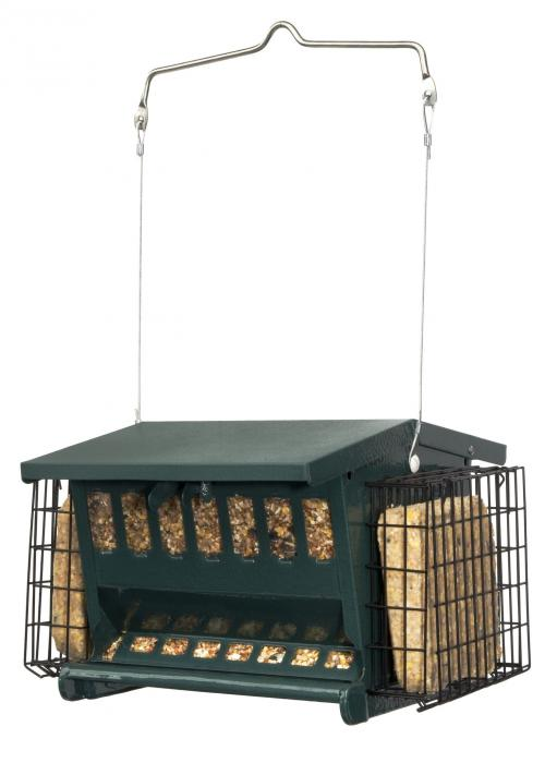 Heritage Farms Mini Seeds 'N More Bird Feeder