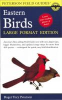 Peterson Books Eastern Birds Large Format Edition