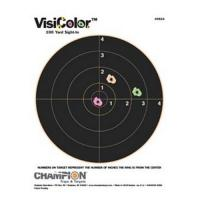 "Champion Traps & Targets Visicolor, 8"" Bulls(10/Pk)"