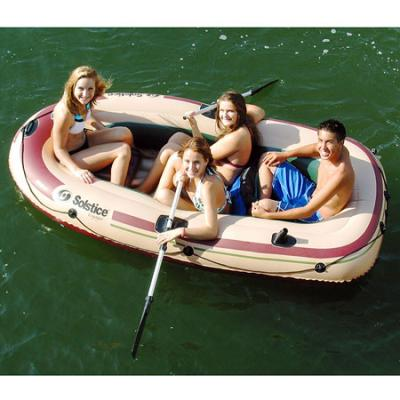 Solstice Voyager 4 Person Inflatable Boat