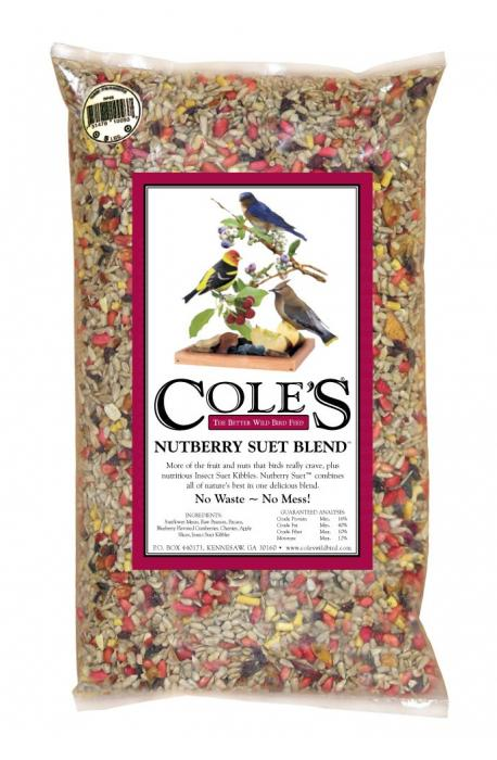 Cole's Wild Bird Products Nutberry Suet Blend 20 lbs.