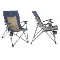 Kamp-Rite 3 Position Hard/Arm Reclining Chair w/Cup Holder