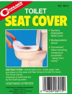 Astounding Coghlans Toilet Seat Covers Caraccident5 Cool Chair Designs And Ideas Caraccident5Info