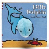 Chronicle Books Little Dolphin Finger Puppet Book