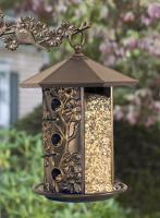 Whitehall Dogwood Bird Feeder - French Bronze
