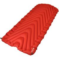 Klymit Insulated Static V Luxe Camping Pad, Red/Char Black, XL