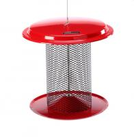 Birds Choice 5 Quart Magnet Mesh Sunflower Feeder - Red