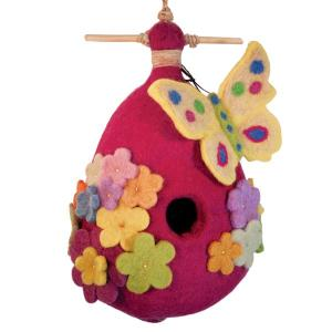 Decorative Bird Houses by DZI Handmade Designs