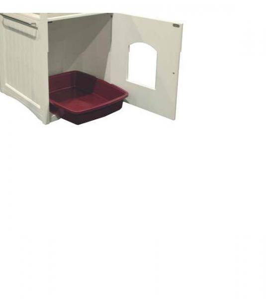 Walnut Color Cat/Dog Washroom/House