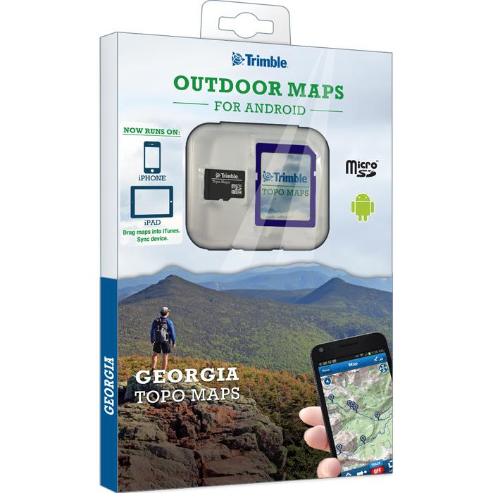 Trimble Georgia Topo Maps