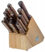 Chicago Cutlery Walnut Tradition 14-Piece Kitchen Knife Set