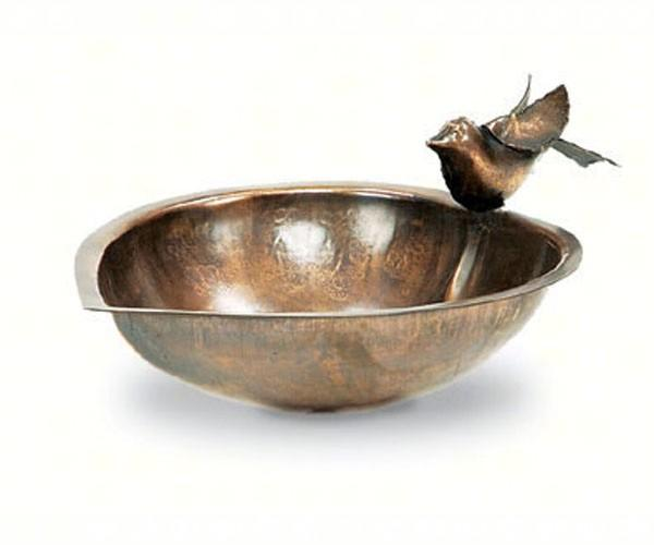 Achla Designs Heart Shaped Bird Bath