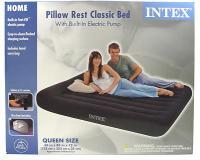 Intex Pillow Rest Classic Airbed, Queen
