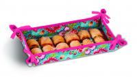 Reversible Hostess Appetizer Tray by Picnic Plus, Madeline Turquoise
